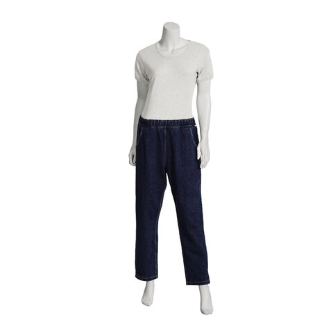 suprima Tages-Pflegeoverall CareActive 4510, Modell jeans, lang, nur RV