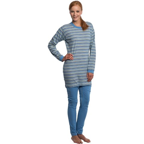 suprima Pyjama-Pflegeoverall CareFunction 4708, Rücken-Bein-RV
