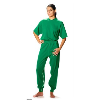 Sanisana Pflegeoverall Carewear 8015, kurzer Arm, langes...